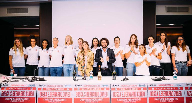 Acqua S.Bernardo è main sponsor del Cuneo Granda Volley anche in serie A1