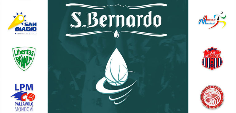"""""""Ogni goccia conta"""", 10 squadre S.Bernardo, di 5 sport differenti, tifano per la pallacanestro Cantù"""