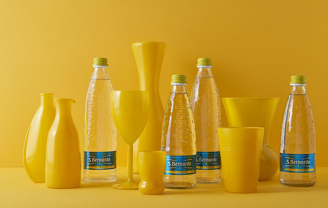 dieta di acqua minerale con gas