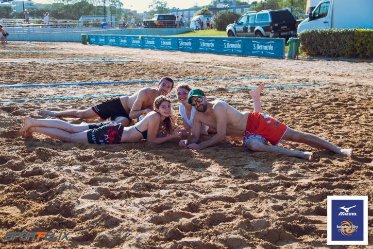 Acqua S.Bernardo a Bibione per il Beach Volley e il Beach Fitness