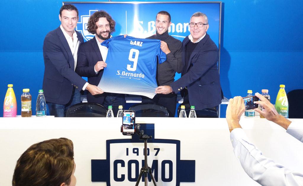 S.Bernardo sponsor del Calcio Como