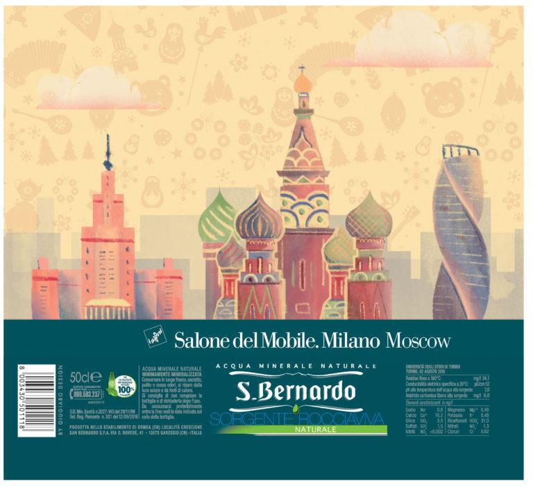 Acqua S.Bernardo vola a Mosca con il Salone del Mobile e una nuova limited