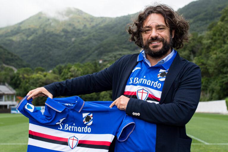 Acqua S.Bernardo sponsor della Sampdoria
