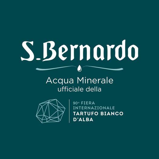 S.Bernardo, acqua minerale ufficiale della 90ª Fiera Internazionale del Tartufo Bianco d'Alba