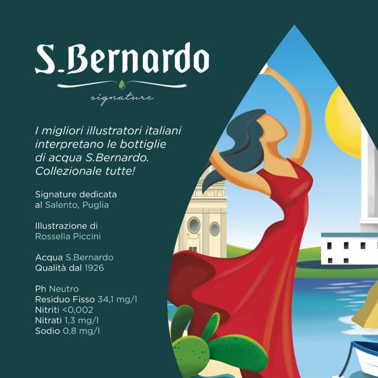 Acqua S.Bernardo, una nuova Goccia per il Salento con una speciale Limited Edition